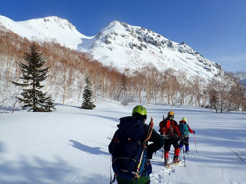 【例会山行】北アルプスの活火山「焼岳」雪山登山(2020.3.20~21)