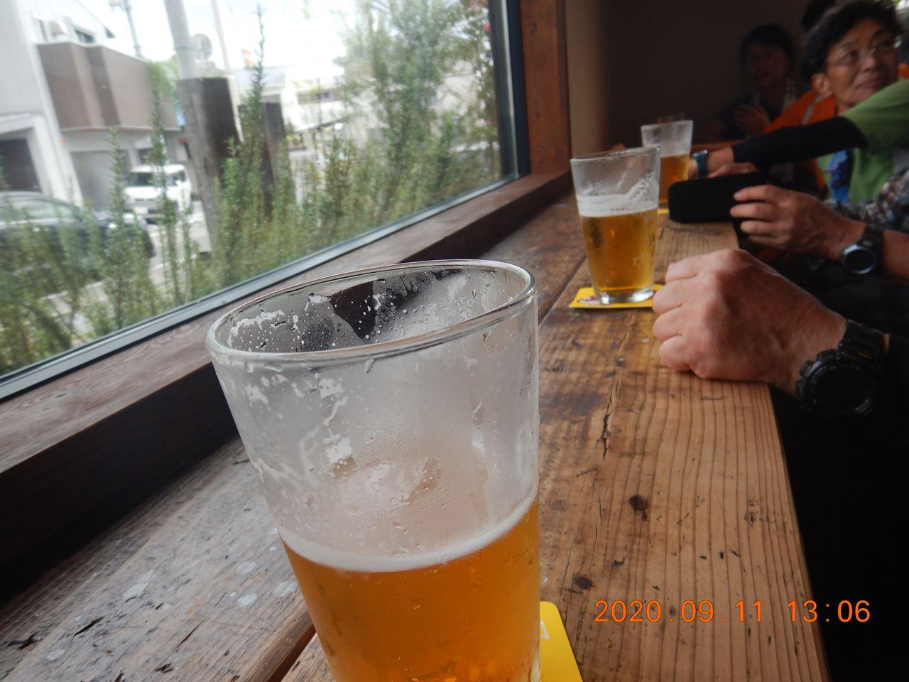 【個人山行】箕面の山散策と地ビール (2020.9.11)