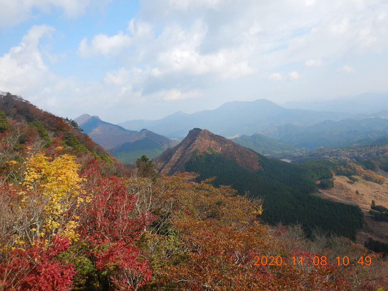 【例会山行】曽爾高原.古光山(2020.11.8)